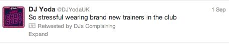 DJ Yoda Complaining