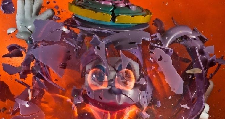 exploding toy