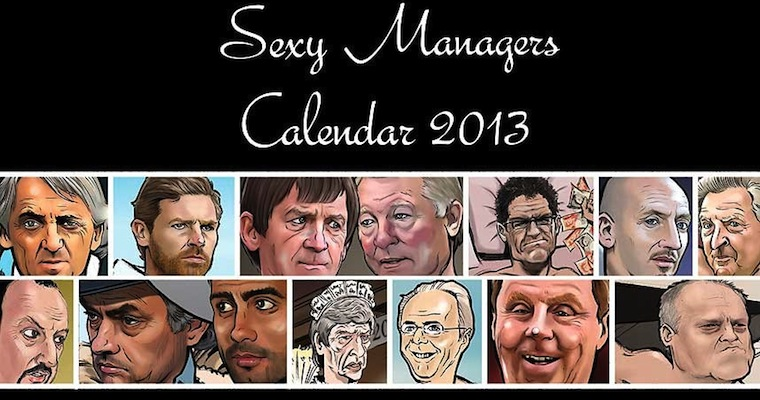 sexy managers calendar