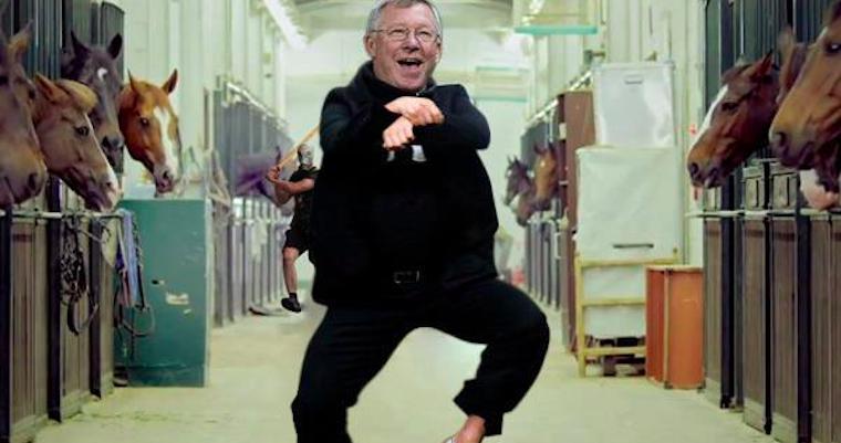 Alex Ferguson Gangnam Style