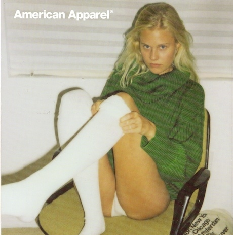 Banned American Apparel Ad