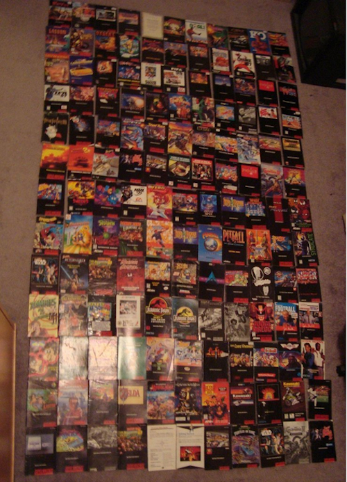 Every SNES Game Ever 4
