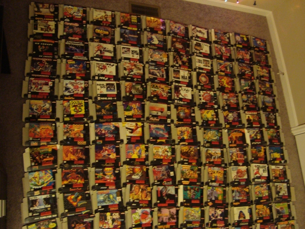 Every Single SNES Game Ever 3