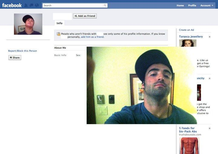 Guy Dresses Up As Facebook Users 2