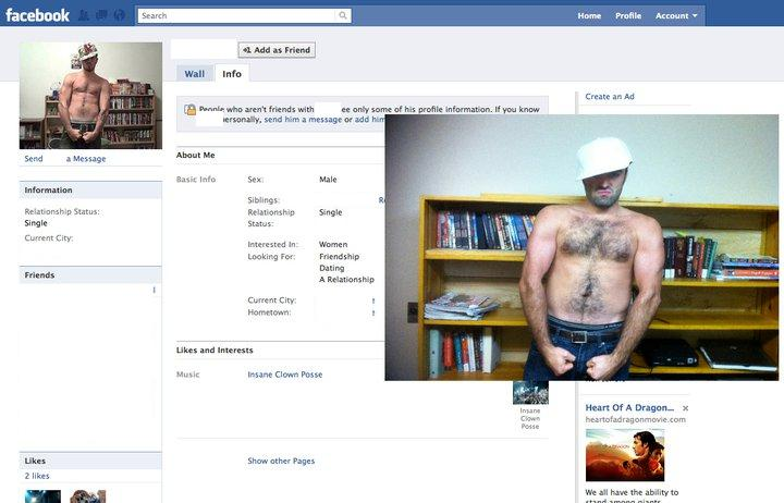 Guy Dresses Up As Facebook Users 8