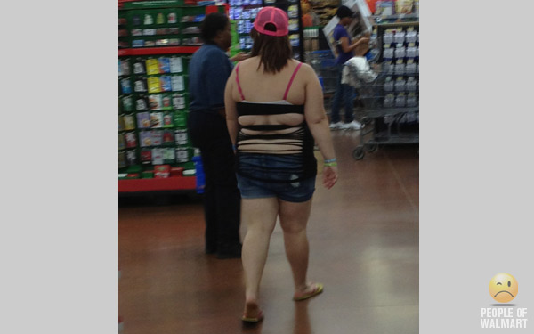 People of Walmart - Hulking 2