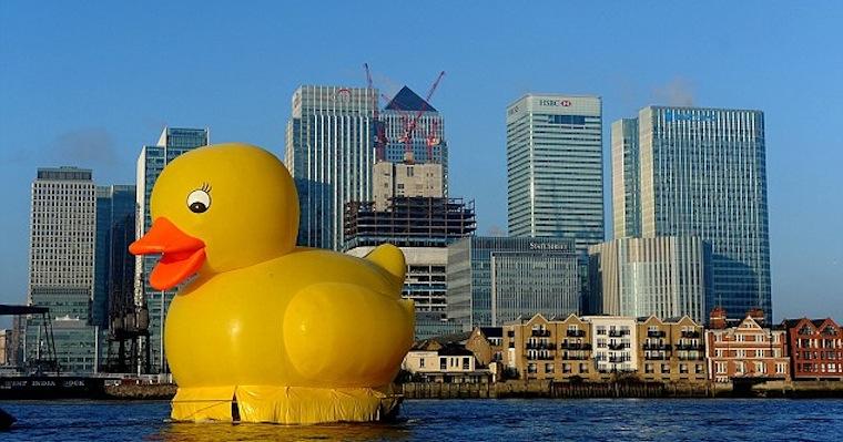 Rubber Duck Thames