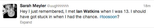 Ian Watkins Paedophile Screengrab 8