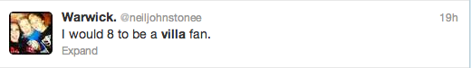 Villa Chelsea Reaction Screengrab 23