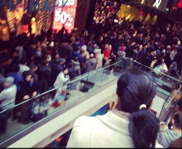 Westfeild Shopping Carnage 1