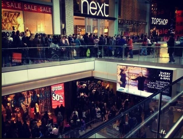 Westfeild Shopping Carnage 2