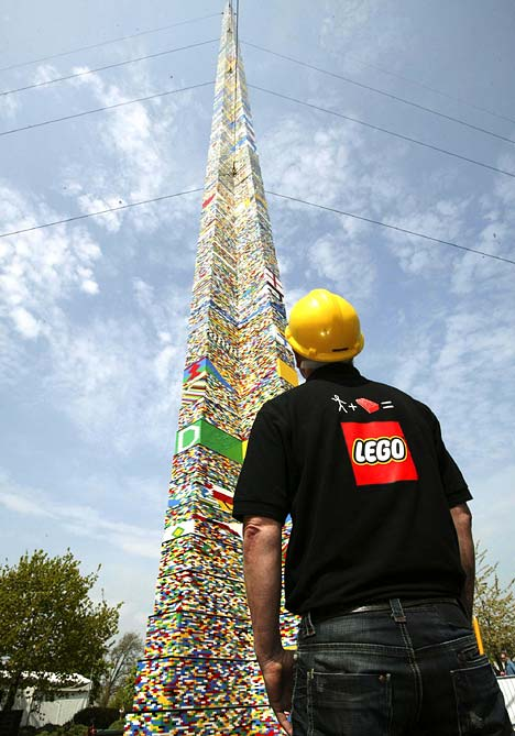Tallest Lego Tower 1