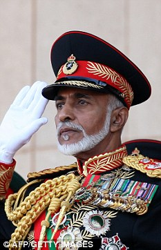 The Sultan of Oman - Qaboos bin Said Al Said