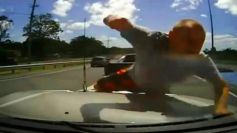 Unbelievable Road Rage Attack Australia