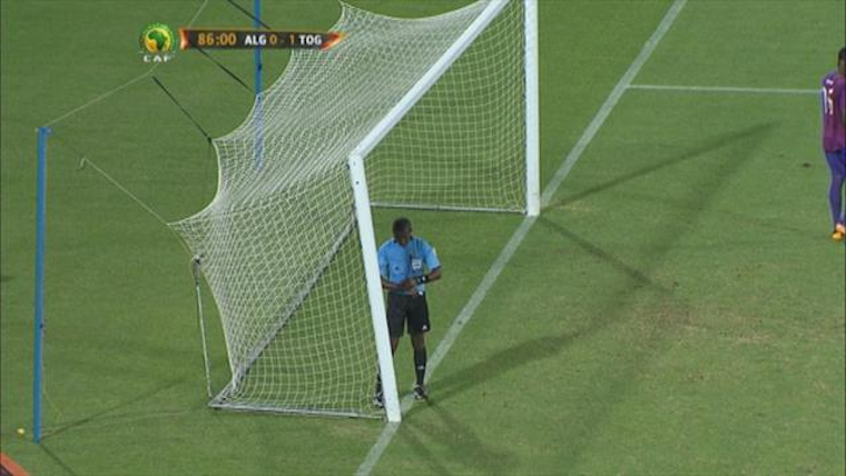 Algeria V Togo Broken Goal