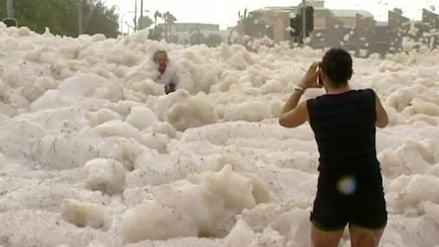 Australian Foam Storm Queensland 1
