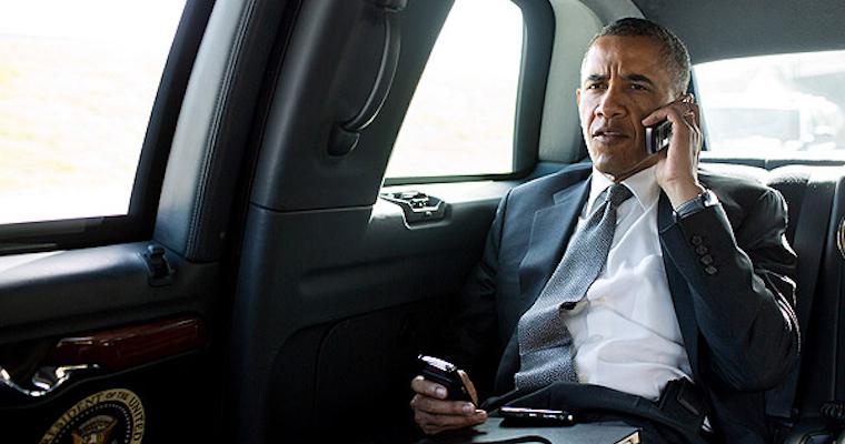 Barack Obama Car