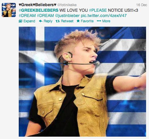 Belieber Greek Screengrab 1