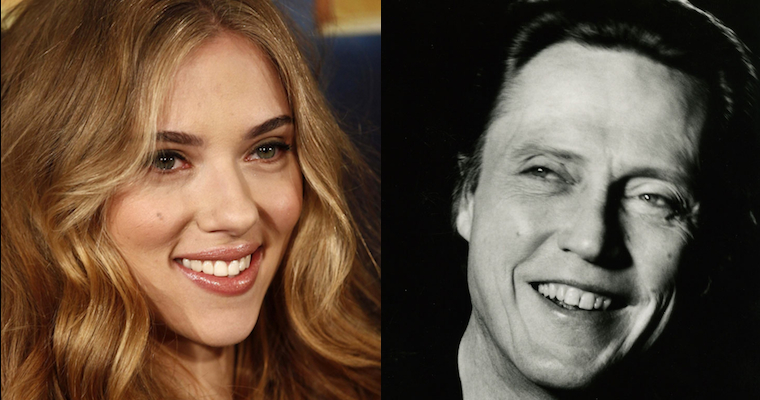 Christopher Walken Scarlett Johansson Featured