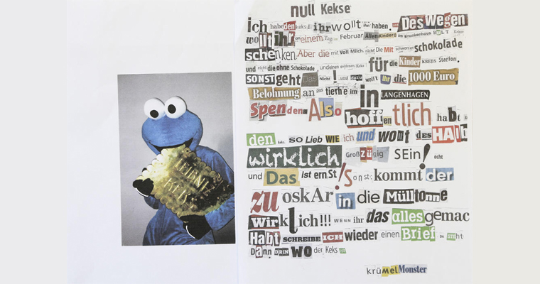 Cookie Monster Note