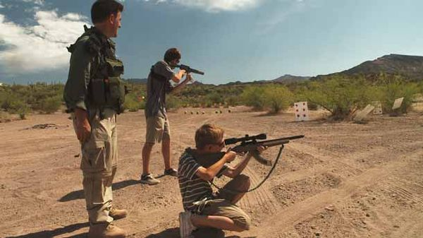 Doomsday Preppers - Kids With Guns