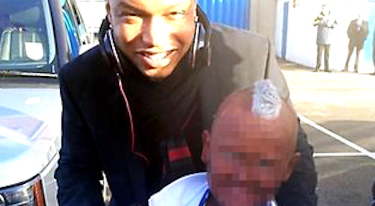 El Hadji Diouf Kid Dress Up