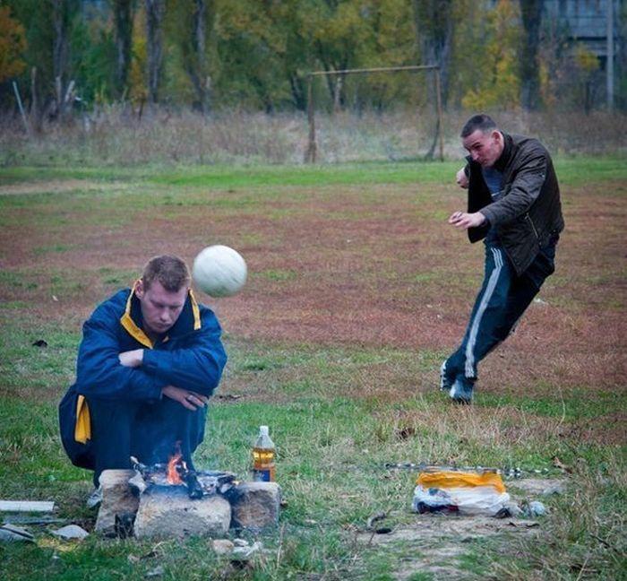 Hilarious Russian Photos - Imminent Ball