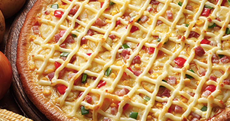 Mayo Pizza Featured
