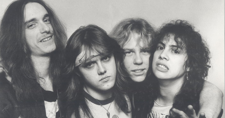 Metallica Younger Days - Early Photo