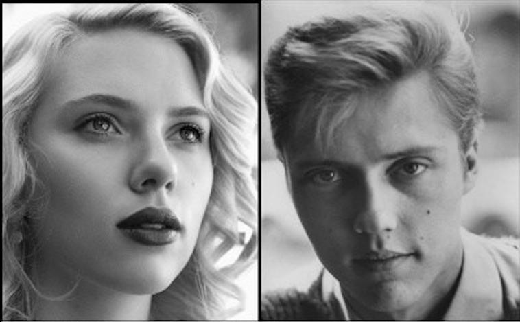 Scarlett Johansson Young Christopher Walken