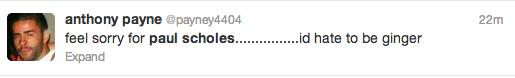 Paul Scholes Twitter Screengrab 1