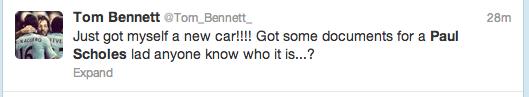 Paul Scholes Twitter Screengrab 3