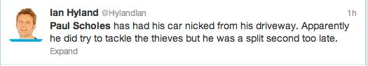 Paul Scholes Twitter Screengrab 4