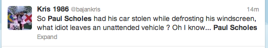 Paul Scholes Twitter Screengrab 10