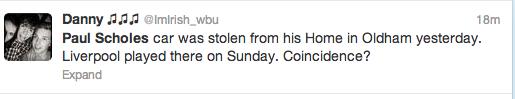 Paul Scholes Twitter Screengrab 11