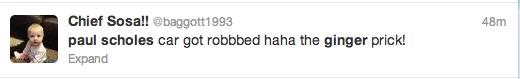 Paul Scholes Twitter Screengrab 14