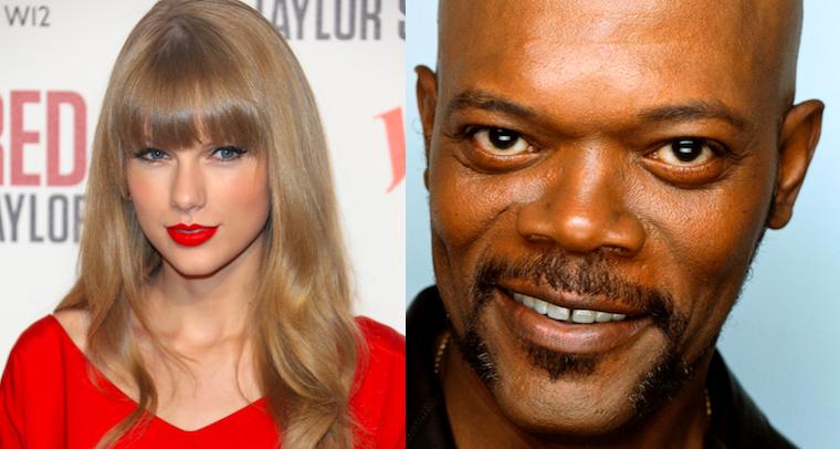 Taylor Swift Samuel L Jackson