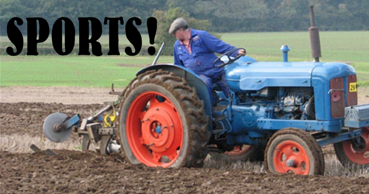 Tractor Fan - Ploughing Matches 2012