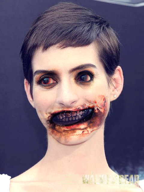 Anne Hathaway Zombie