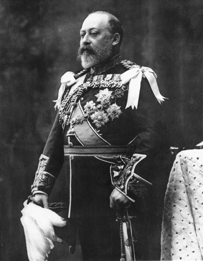 Edward VII - Portrait Photo