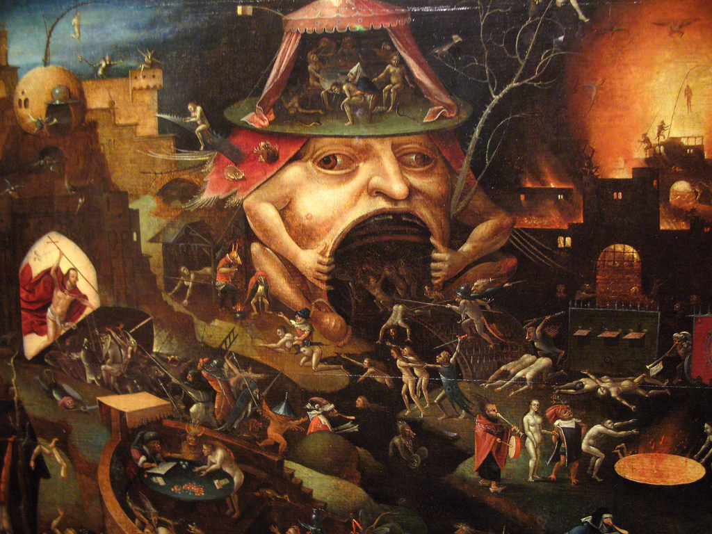Hieronymus Bosch - A Violent Forcing Of The Frog
