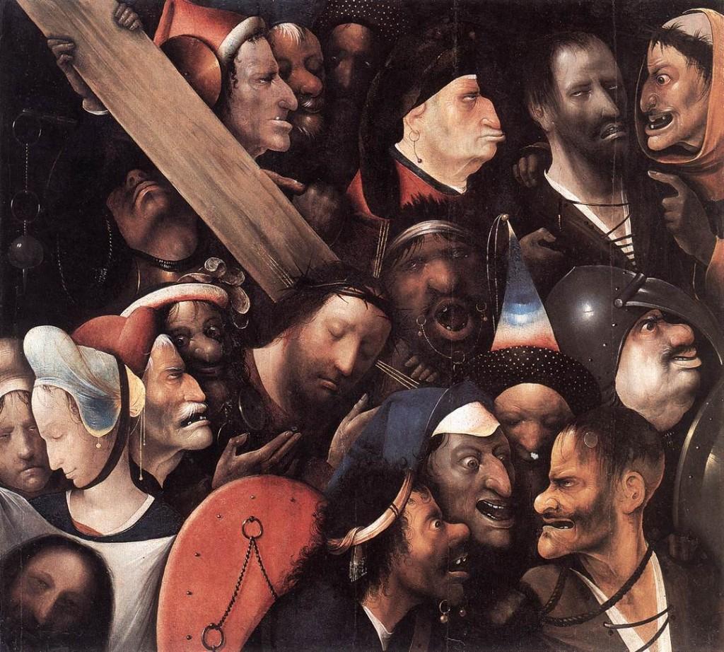 Hieronymus Bosch - Christ Detail