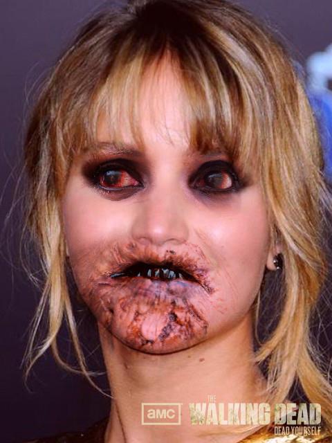 Jennifer Lawrence Zombie