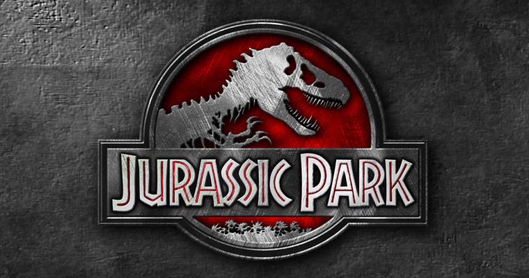 Jurassic Park Metallic Logo