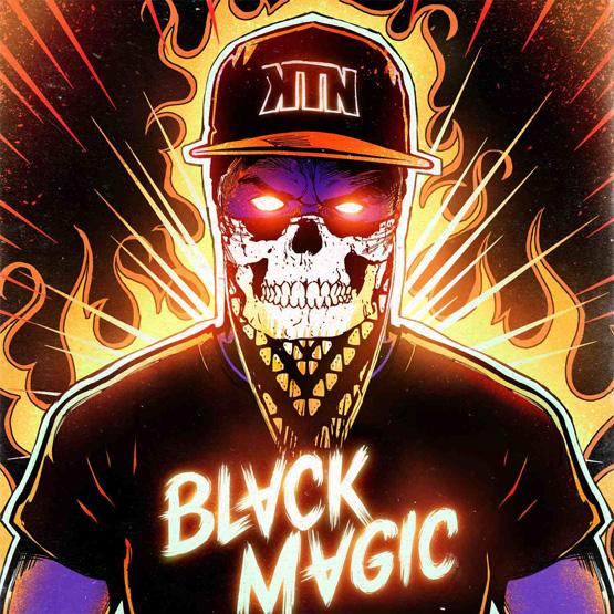 Kill The Noise - Black Magic - Album Cover