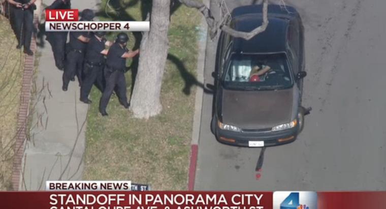 LAPD Balloon Man Standoff