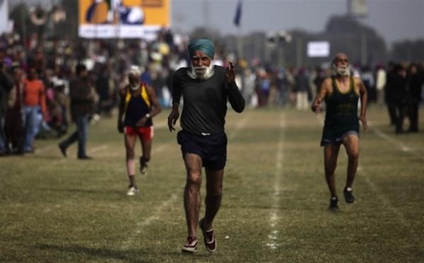 100m Sprint Rural Olympics