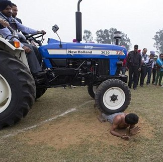 Rural Olympics Tractor