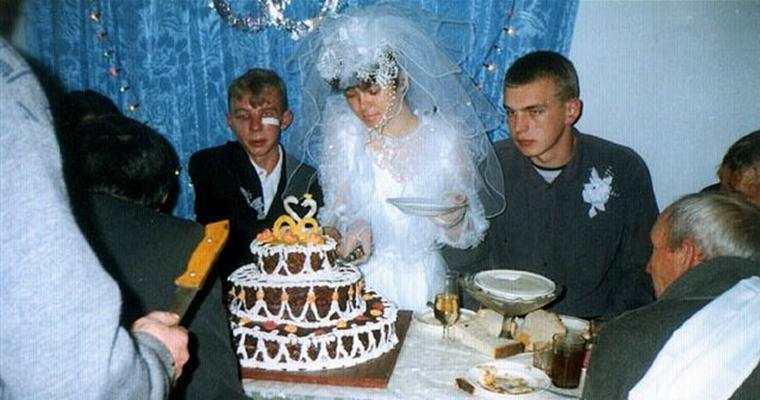 Russian Wedding Fight