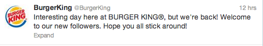 McDonald's Burger King Twitter Takeover 4